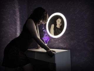 Picture of the sexy profile of VanillaVelvet, for a very hot webcam live show !
